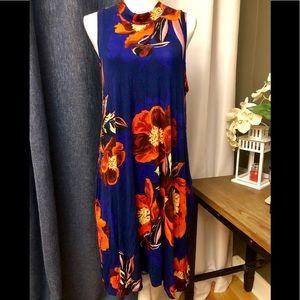 NWT Premise Royal multi color pocket dress